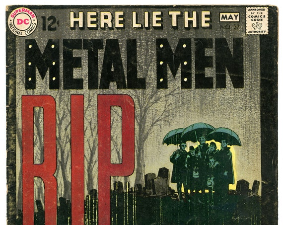 Metal Men 37 May 1969 VG-FI (5.0)