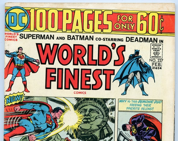 World's Finest 227 Feb 1975 VG+ (4.5)