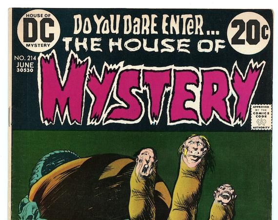 House of Mystery 214 Jun 1973 FI-VF (7.0)