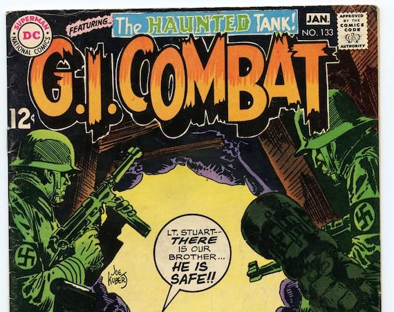 GI Combat 133 Jan 1969 VG+ (4.5)