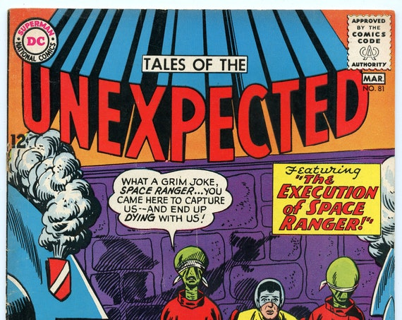 Tales of the Unexpected 81 Mar 1964 FI- (5.5)