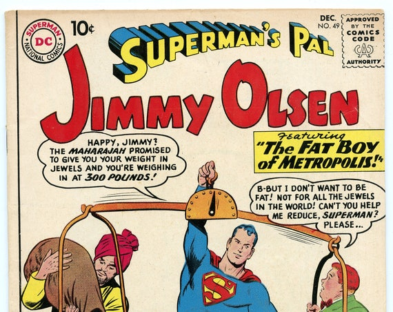 Superman's Pal Jimmy Olsen 49 Dec 1960 FI- (5.5)