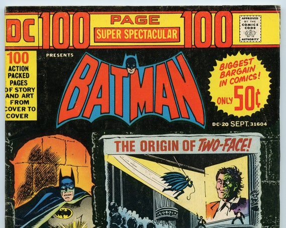 DC 100 page Super Spectacular 20 Sep 1973 VG-FI (5.0)