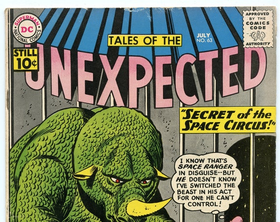 Tales of the Unexpected 63 Jul 1961 VG-FI (5.0)