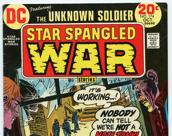 Star Spangled War Stories 174 Oct 1973 FI- (5.5)