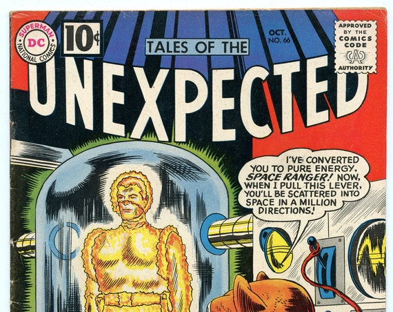 Tales of the Unexpected 66 Oct 1961 FI- (5.5)