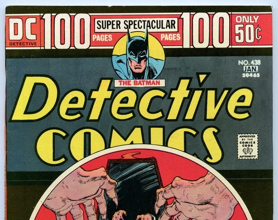 Detective Comics 438 Jan 1974 FI-VF (7.0)