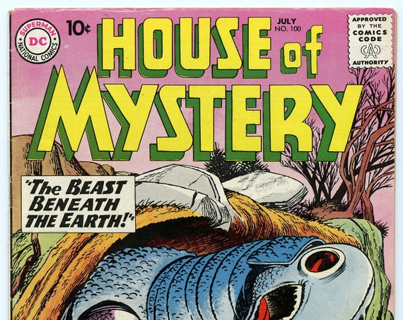 House of Mystery 100 Jul 1960 VG-FN (5.0)
