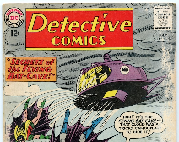 Detective Comics 317 Jul 1963 FA-GD (1.5)
