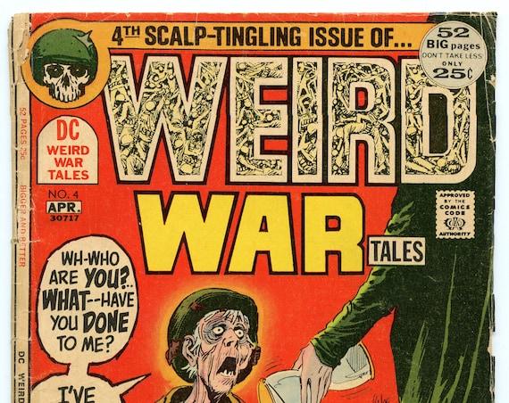 Weird War Tales 4 Apr 1972 GD-VG (3.0)