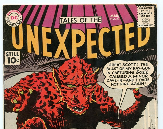 Tales of the Unexpected 59 Mar 1961 FI- (5.5)