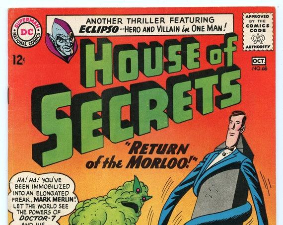 House of Secrets 68 Oct 1964 FI- (5.5)
