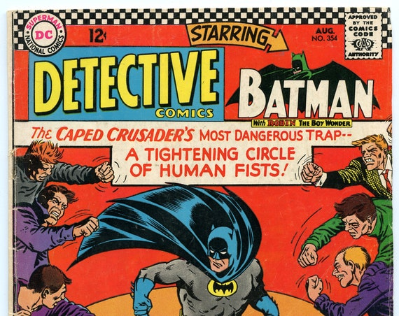 Detective Comics 354 Aug 1966 GD-VG (3.0)
