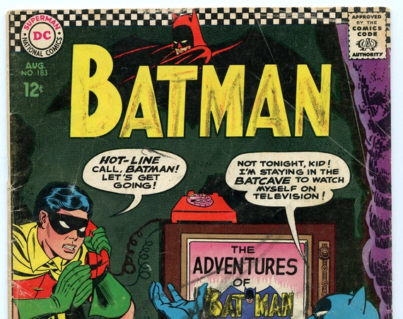 Batman 183 Aug 1966 GD (2.0)