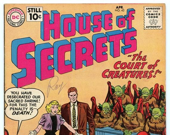 House of Secrets 43 Apr 1961 FI- (5.5)