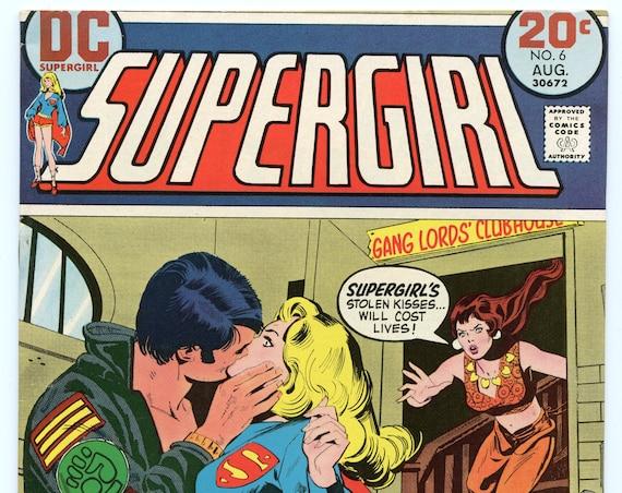 Supergirl 6 Aug 1973 VF+ (8.5)