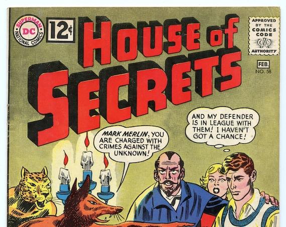 House of Secrets 58 Feb 1963 FI- (5.5)