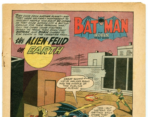 Batman 144 Dec 1961 Coverless