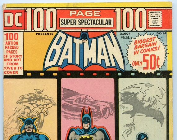 DC 100 page Super Spectacular 14 Feb 1973 VG+ (4.5)