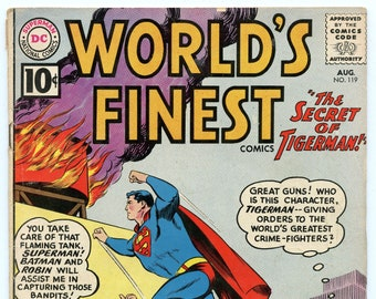 World's Finest 119 Aug 1961 VG- (3.5)