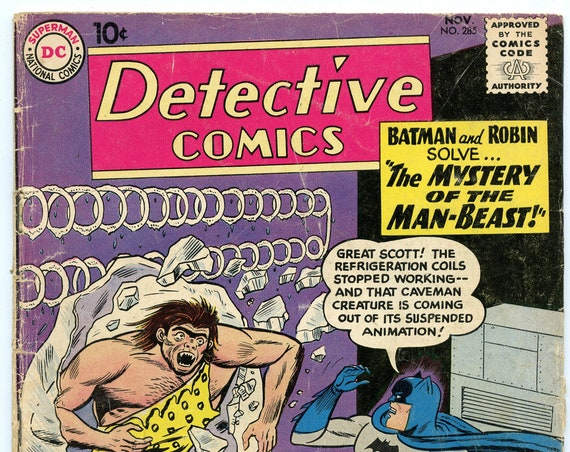 Detective Comics 285 Nov 1960 GD (2.0)