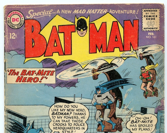 Batman 161 Feb 1964 GD (2.0)
