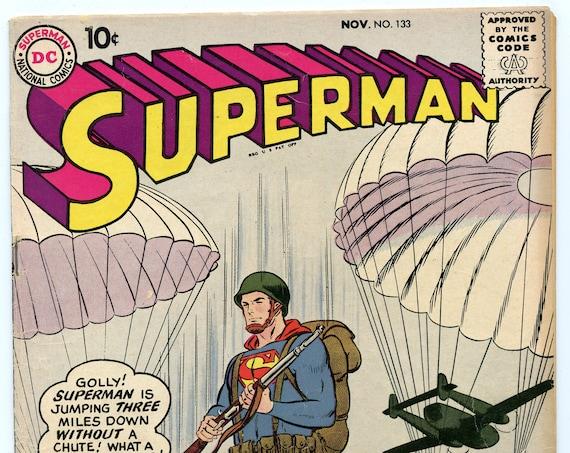 Superman 133 Nov 1959 FI- (5.5)