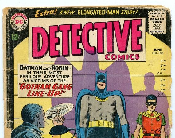 Detective Comics 328 Jun 1964 FA (1.0)