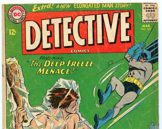 Detective Comics 337 Mar 1965 GD-VG (3.0)