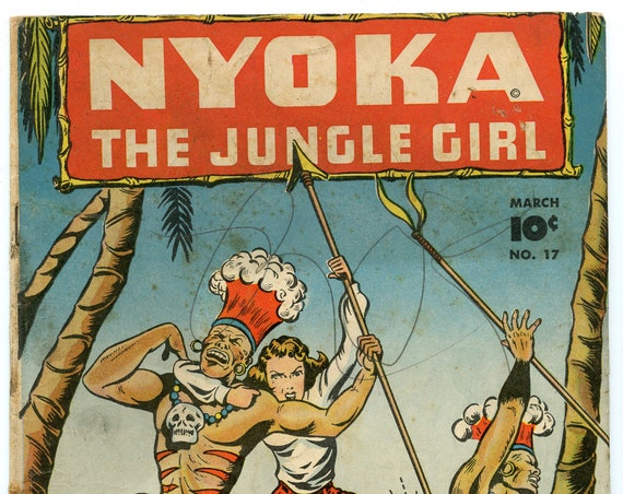 Nyoka the Jungle Girl 17 Mar 1948 GD-VG (3.0)