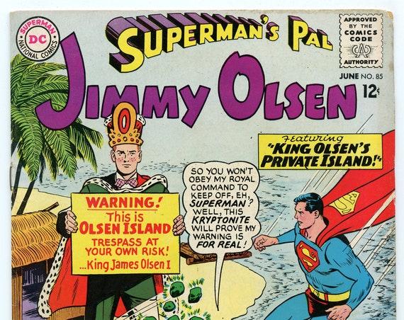 Superman's Pal Jimmy Olsen 85 Jun 1965 FI (6.0)