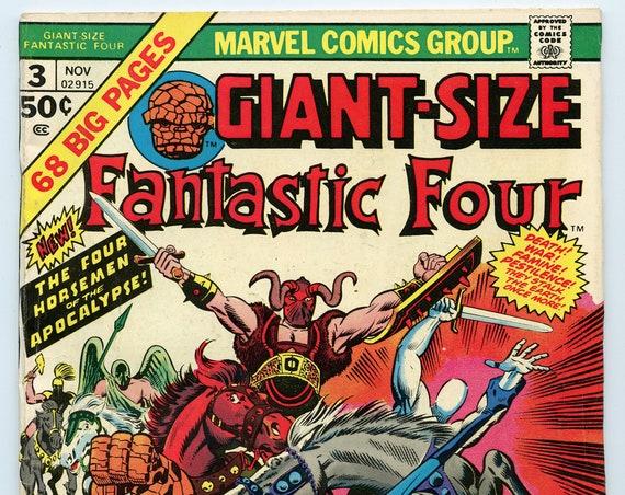 Giant-Size Fantastic Four 3 Nov 1974 VG (4.0)