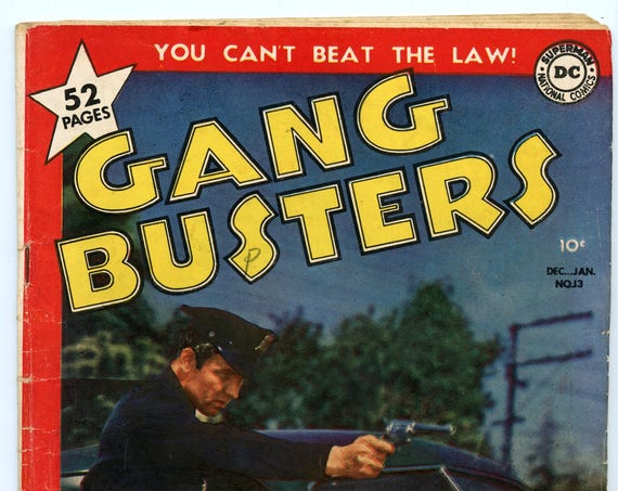 Gang Busters 13 Jan 1950 GD-VG (3.0)
