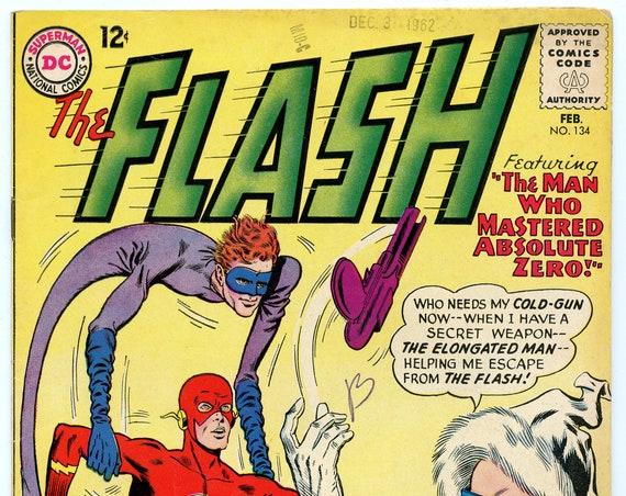 Flash 134 Feb 1963 VG-FI (5.0)