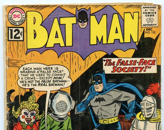 Batman 152 Dec 1962 FA (1.0)