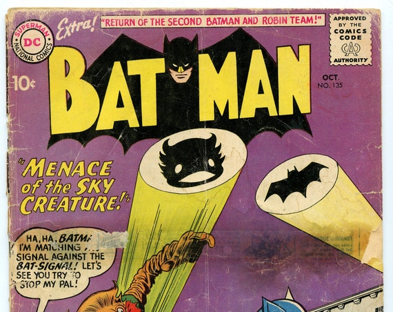 Batman 135 Oct 1960 FA (1.0)