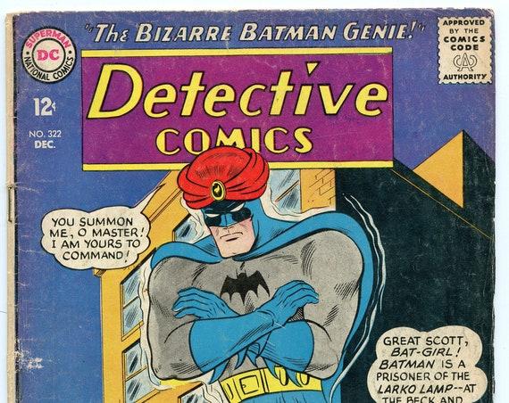 Detective Comics 322 Dec 1963 GD (2.0)