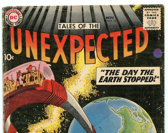 Tales of the Unexpected 31 Nov 1958 VG (4.0)