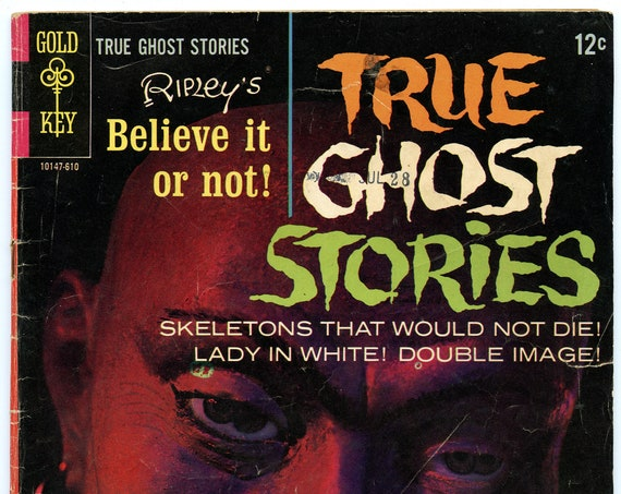 Ripley's Believe It or Not True Ghost Stories 2 Oct 1966 VG (4.0)