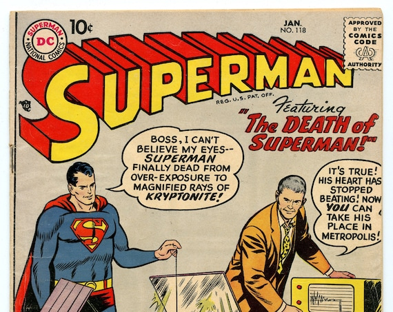 Superman 118 Jan 1958 VG-FI (5.0)