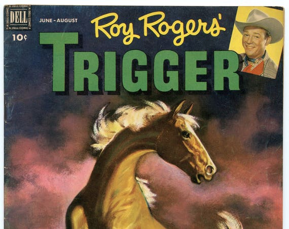 Roy Rogers' Trigger 5 Aug 1952 VG+ (4.5)