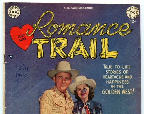 Romance Trail 1 Jul-Aug 1949 VG (4.0)