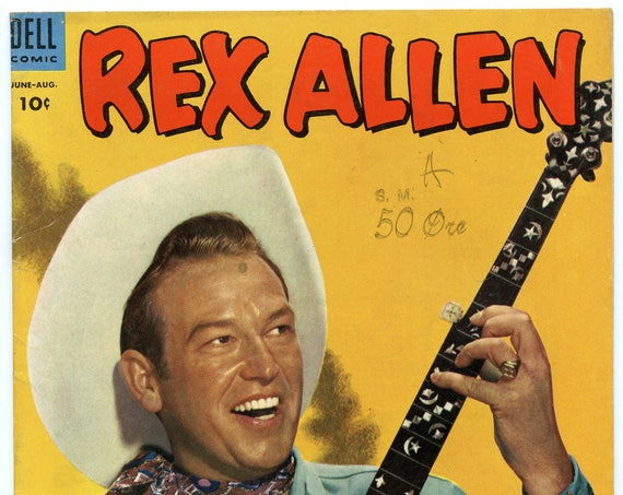 Rex Allen Comics 9 Aug 1953 FI (6.0)