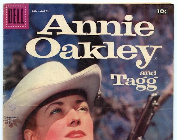 Annie Oakley and Tagg 14 Mar 1958 VG (4.0)