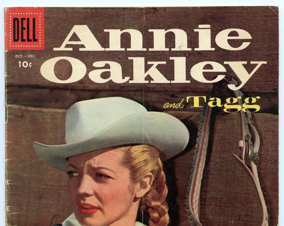 Annie Oakley and Tagg 5 Dec 1955 VG (4.0)