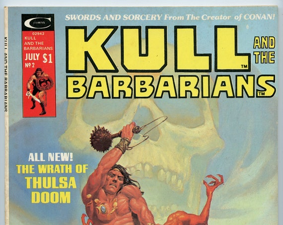 Kull and the Barbarians 2 Jul 1975 FI-VF (7.0)