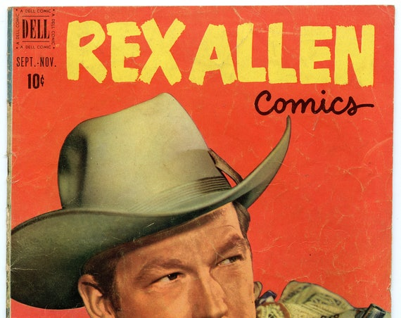 Rex Allen Comics 2 Nov 1951 GD-VG (3.0)