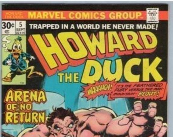 Howard the Duck 5 Sep 1978 VF (8.0)