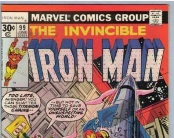 Iron Man 99 Jun 1977 VF- (7.5)