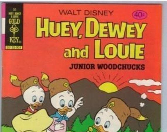 Huey Dewey and Louie 55 Apr 1979 VF+ (8.5)